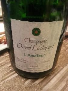 2007 David Leclapart L'Amateur Premier Cru Blanc de Blancs Extra Brut