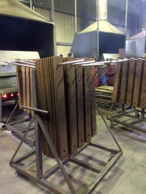 05 Wood staves after char